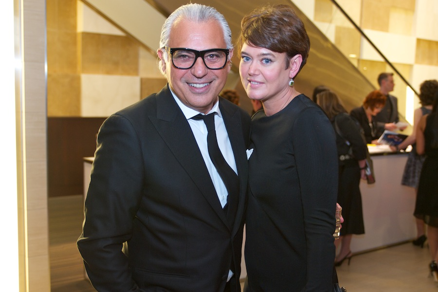 Joe Mimran and Kimberley Newport-Mimran by Ryan Emberley