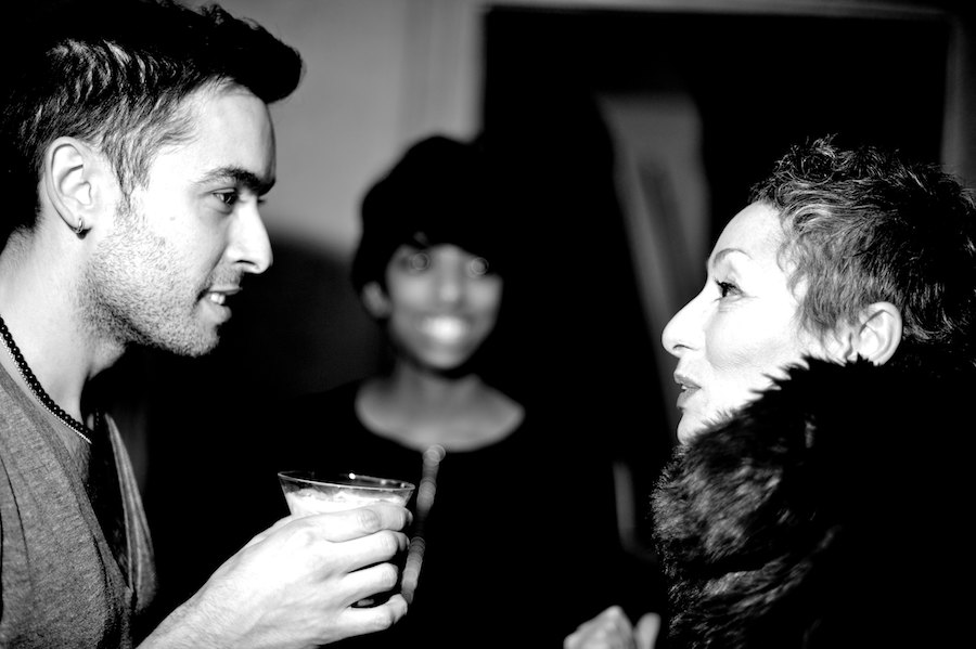 Photo Essay: Backstage at Lucian Matis F/W 2013 by Ryan Emberley