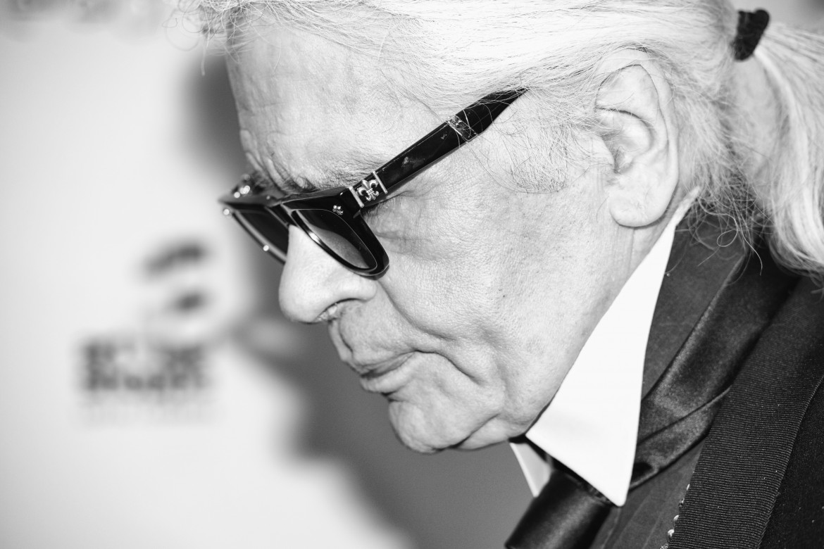 Karl Lagerfeld's first trip to Canada (Photo: Ryan Emberley)